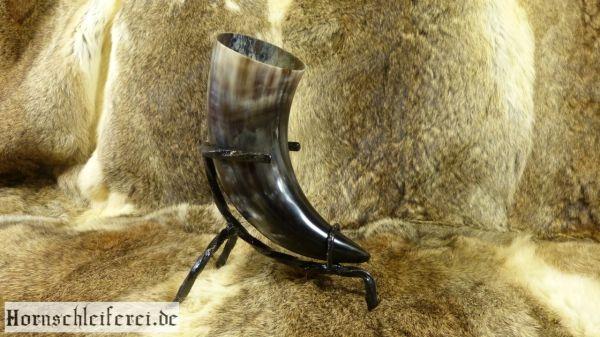 Trinkhorn inkl. Tischständer ca. 300 - 390 ml 0,3 - 0,39l