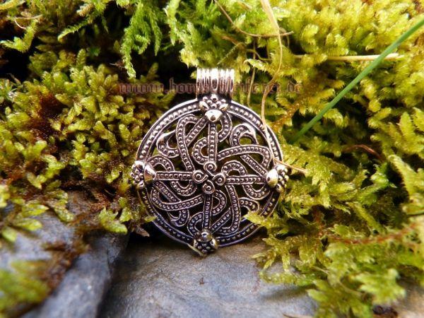 Anhänger VINGÅRD Viking Cross aus Bronze