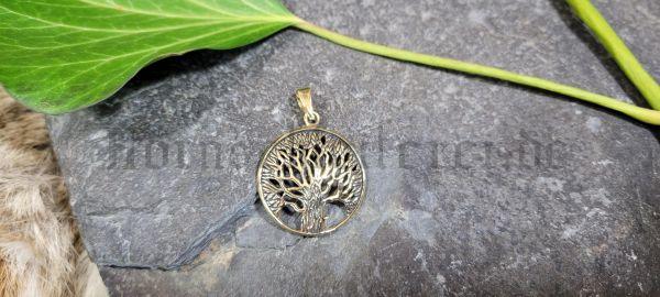 Anhänger DARA Keltische Eiche aus Bronze