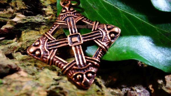 Wikinger Schutzanhänger ARKOR aus Bronze (Originalfund)