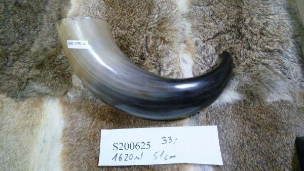 Trinkhorn 1,62 l und 51 cm B-Ware Einzelstück Vikings, LARP Wacken Methorn Metal