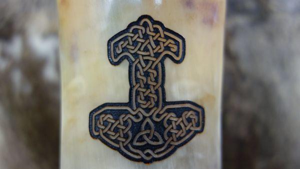 Branding keltischer Knoten Thorshammer 2