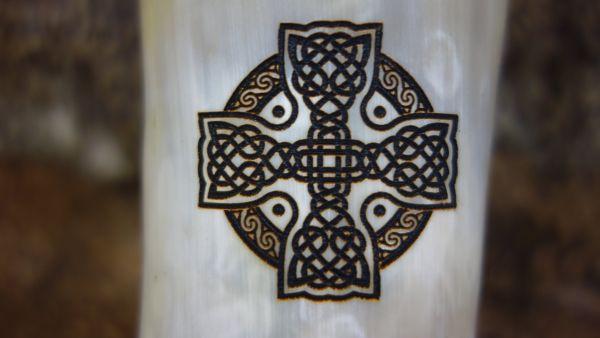 Branding keltisches Kreuz