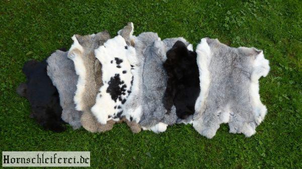 Kaninchenfell in 2 Qualitäten